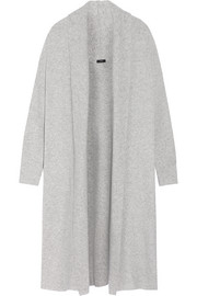 Stretch wool-blend coat