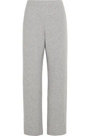 Lo wool-blend wide-leg pants