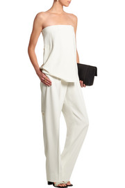Lo crepe wide-leg pants