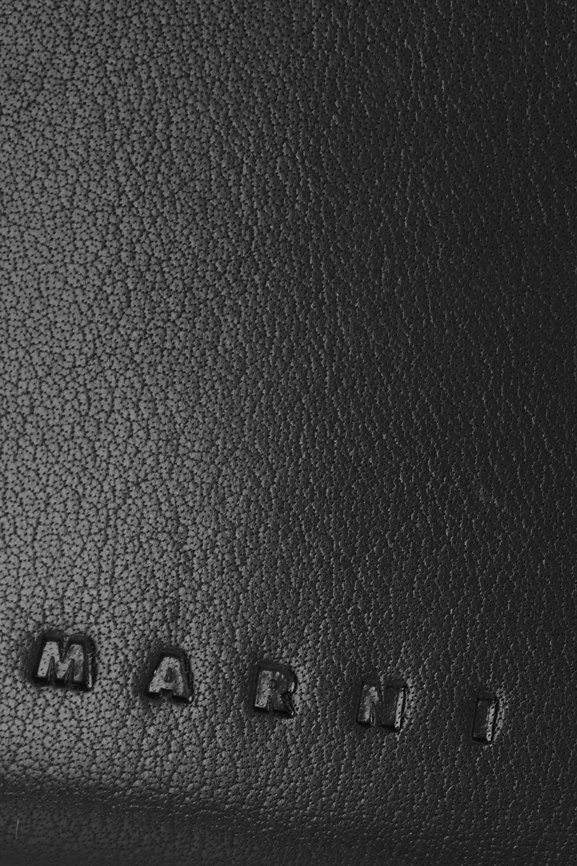 Marni Book leather shoulder bag