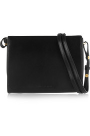 Marni Book leather shoulder bag