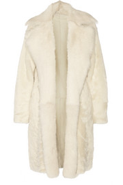 Jathan reversible shearling coat