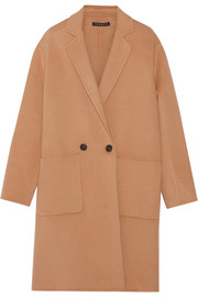 Eletkah felted wool and cashmere-blend coat