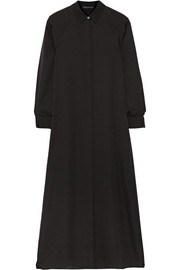 Scenta silk-georgette maxi dress
