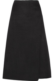 Theory Anneal cashmere midi skirt