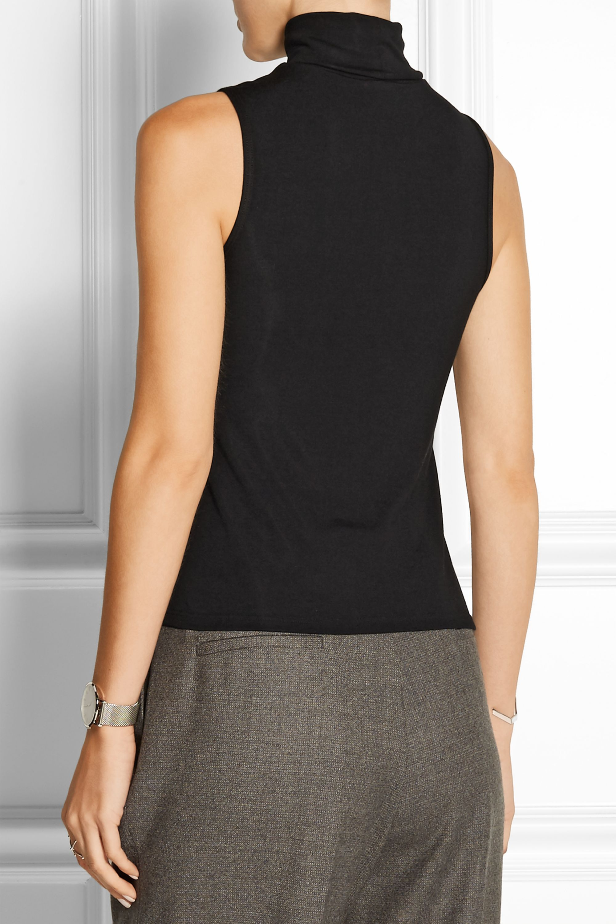 Theory Wendel stretch-knit turtleneck top