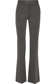 Garetto stretch-ponte flared pants