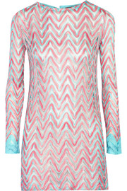 Missoni Flame crochet-knit coverup
