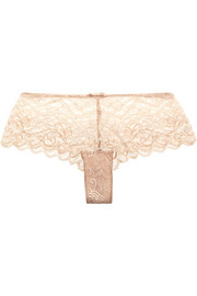 Simone Pérèle Celeste Leavers lace briefs