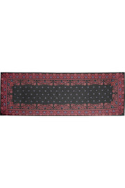 Rectangle scarf 70cm x 200cm in paisley-print