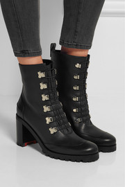 Christian Louboutin Country Croche 70 leather boots