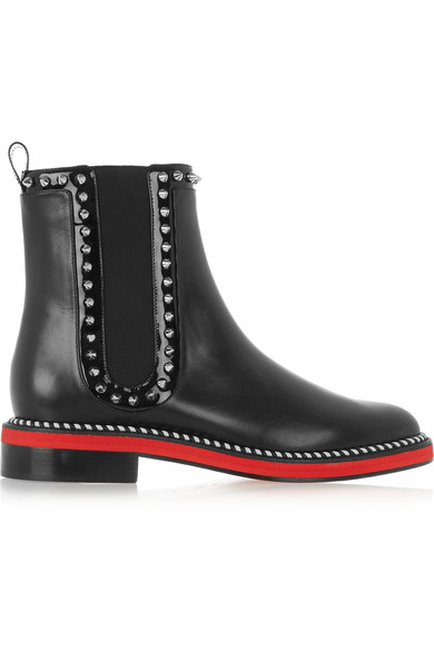 f75a72927c9b Christian Louboutin. Notting Hill 25 studded leather Chelsea boots
