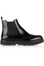 Church's Nanny glossed-leather Chelsea boots