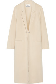 Foin Doublé wool and cashmere-blend coat