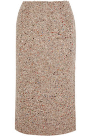 Acne Studios Fenel Trash wool-blend tweed midi skirt