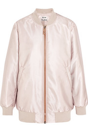 Acne Studios Selow satin-faille bomber jacket