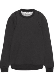 Albina oversized cotton-blend jersey sweatshirt