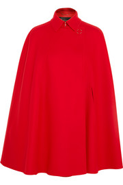 Versace Wool-felt cape