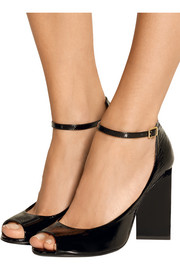 Ace patent-leather sandals