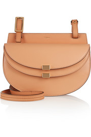 Georgia mini leather shoulder bag