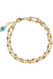 Star gold-plated bracelet