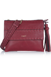 Sugar mini textured-leather shoulder bag