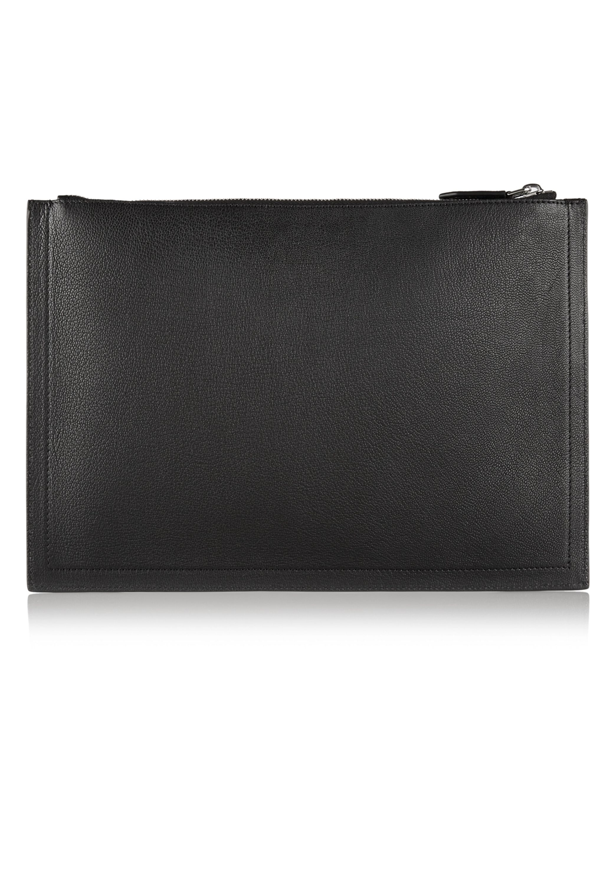 Givenchy Antigona textured-leather pouch