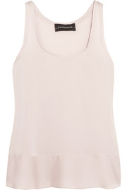 Ibonna stretch-silk satin tank