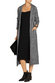 Fulana belted wool and mohair-blend coat