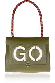 Bathurst GO small textured-leather tote