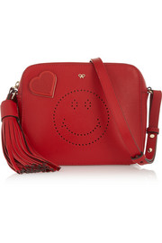 Anya Hindmarch Heart textured-leather sticker