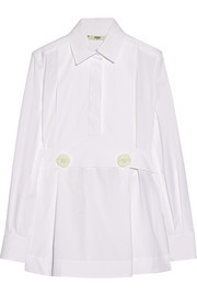 Fendi Stretch-cotton poplin shirt