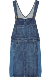 The Carpenter stretch-denim mini dress