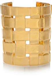 Aurélie Bidermann Marella gold-plated cuff