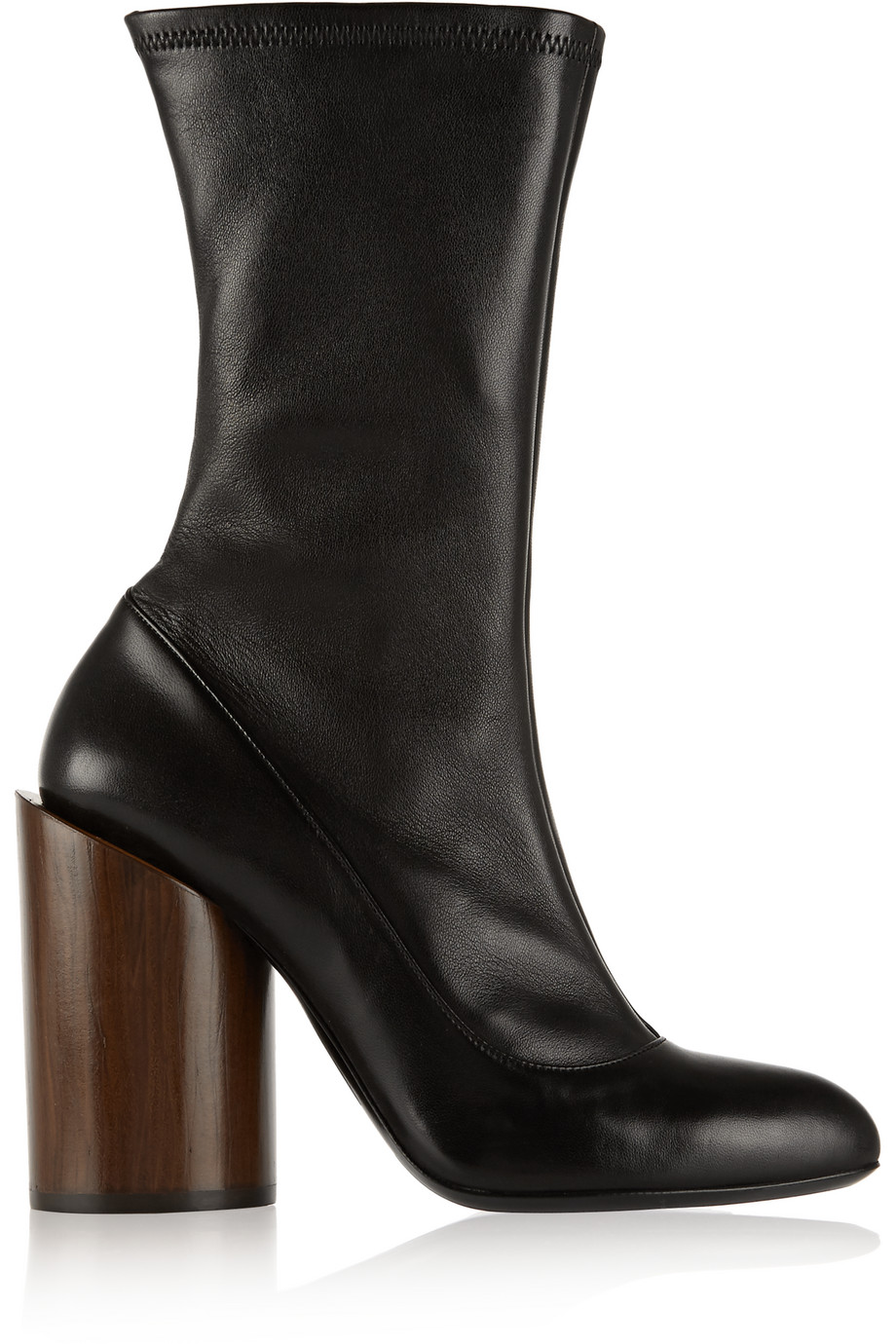 Givenchy Boots in Black Stretch-Leather, Women's US Size: 9, Size: 39.5