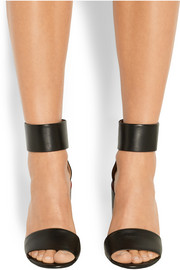 Givenchy Block-heeled sandals in black leather