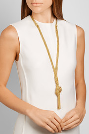Miki gold-plated necklace