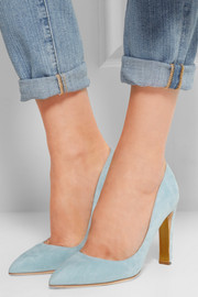 Angie suede pumps