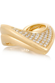 Lynn Ban Fleet 14-karat gold diamond ring