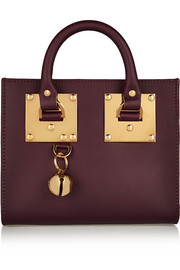 Sophie Hulme Box leather tote