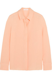 See by Chloé Pleat-back cloqué shirt