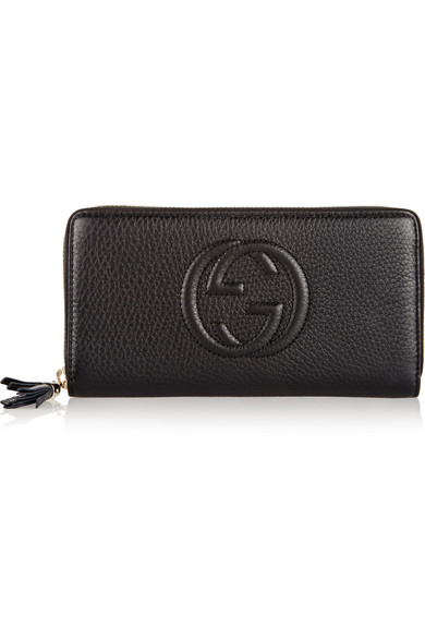 8d51752c0d8 Gucci. Soho textured-leather continental wallet