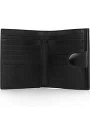 Gucci Icon glossed-leather wallet