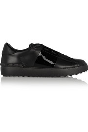 Valentino Paneled leather sneakers