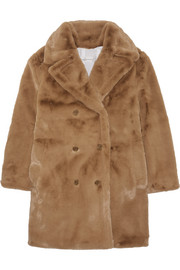 Kate oversized faux fur coat