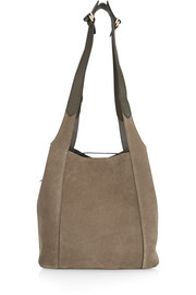 Faust suede tote