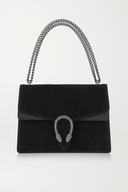Gucci Dionysus medium suede and leather shoulder bag