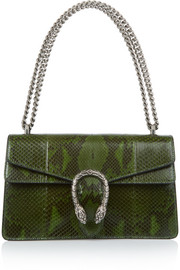 Dionysus small python shoulder bag