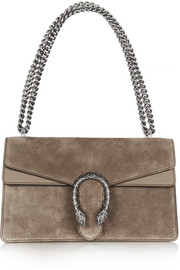 Dionysus small suede shoulder bag
