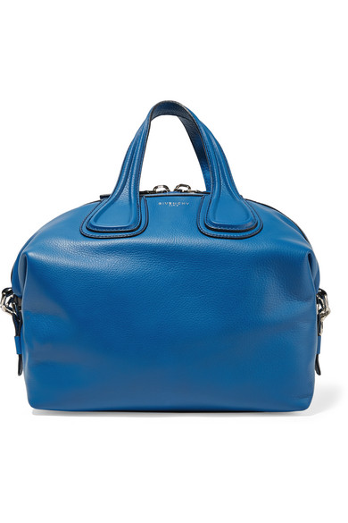 5481e9832839 Givenchy. Medium Nightingale bag in cobalt-blue leather